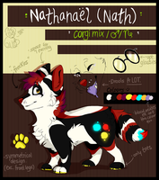 Nathanael (fursona reference) by Ghoul-bite
