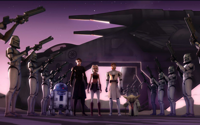 Star Wars: The Clone Wars by GavDude