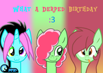 Gift: Derped Birthday! by AZ-Derped-Unicorn