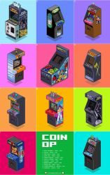 Coin-Op charity poster by gunstar-red