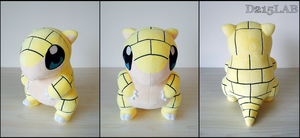 Sandshrew Plush by d215lab