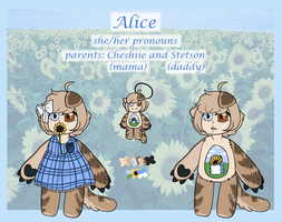 Meet: Alice the mimibie by CheshireQtea
