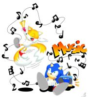 lets play music by sapphii