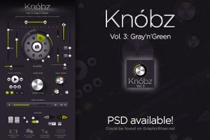 Knobz Vol.3 PSd now available! by lakmus