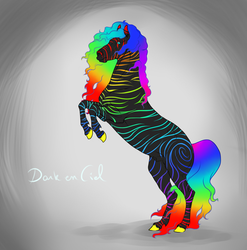 Dark en ciel by halloweendonkey