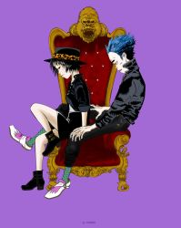 King and Queen (2DxNoodle) from GORILLAZ by OsirisMongua