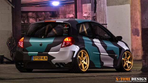 Renault Clio RS by x-tomi