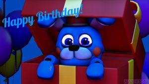 .:Happy Birthday BlueBon-sfm:. by Clara-Foxx