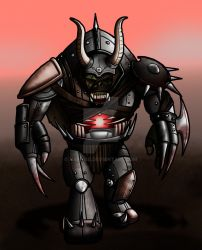 March of Robots #13: Orcbot by Narnise