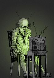 Static Zombie by nicktheartisticfreak