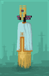Galactic Stone ..... I take Pixel art commissions by MoneerTheFirst