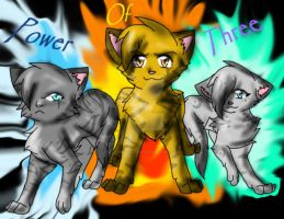 power of three warrior cats by blackmuttofdoom