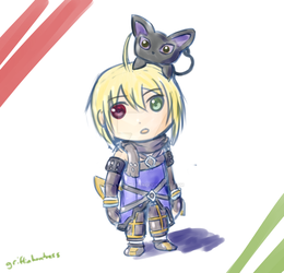 [Tales of Symphonia: Knight of Ratatosk] Emil by GriffinHuntress