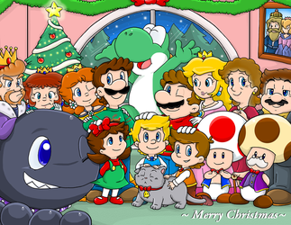 Merry Christmas 2013 by Nintendrawer