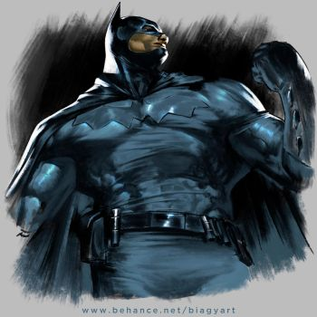Batman by mrbiagy