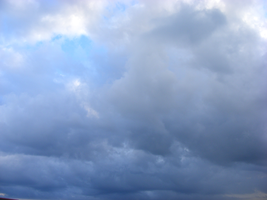 Blue Cloudy Sky by emilyemilybeth