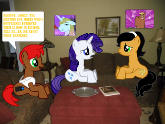 The Meeting Of Betrayed Girlfriends by Eli-J-Brony