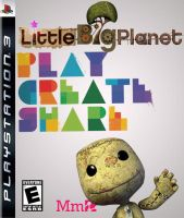 LittleBigPlanet Cover--white by dtran09