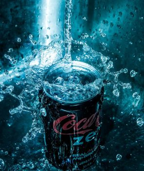 Coke Zero Splash by HannahDoma