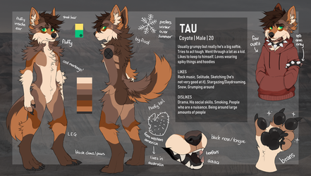 Tau Reference Sheet by MonsterFennec