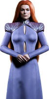 Marvel Inhumans - Medusa PNG by DavidBksAndrade
