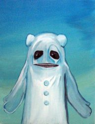 Ghost Bear by GremlinXavier
