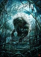 Swamp Thing by MelikeAcar