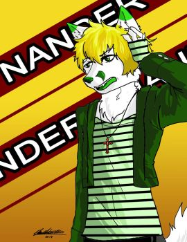 Nander the Fox by Kathe-Fox