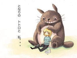 My Day With Totoro by octootco