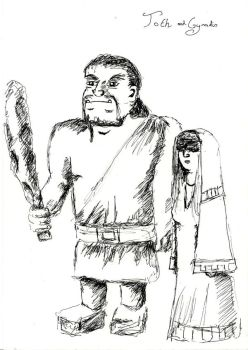 Toth and cyradis by lyness