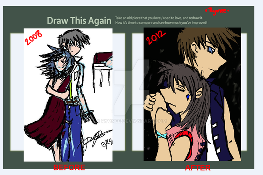 Draw this Again Challenge by Ryonee