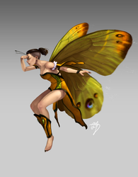 Nature Fairy Concept by BannanaPower