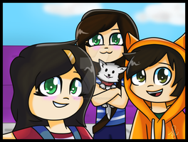 MCSM Season 2|Selfie! :D by Lyrica-Clef