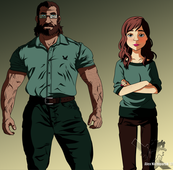Roberto and Sarah (Young Versions) by EternASH