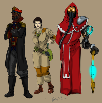 Inquisitorial Crew by TheJoeybird