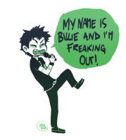 My name is Billie and I'm freaking out by Hellenor