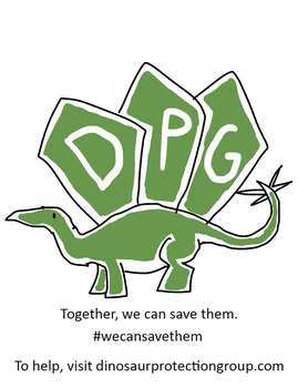 The Dinosaur Protection Group Logo by TyrannosaurusRex-123