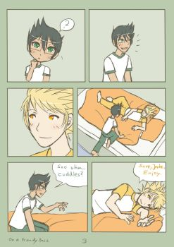 HS - Jake x Dirk - On a Friendly Basis - Page 3 by ChibiEdo