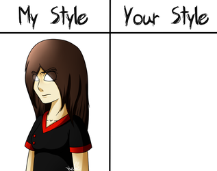 My Style VS Your Style: ETAK (Intermediate) by KATEtheDeath1