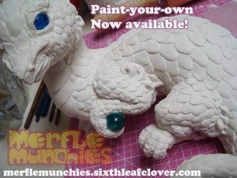 Paint your own dragons available by The-SixthLeafClover
