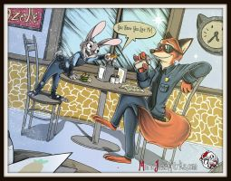 Zootopia ~ Digital by MarieJaneWorks