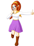 OoT - Idol Malon by StaciNadia