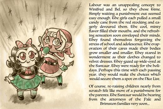Santaur's Greetings, part 4 (red) by Mr-DNA