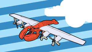 Go Lobsterplane by troped