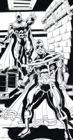 Commission teaser: When  Heroes Unite by CarloGarde