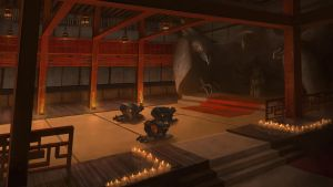 Rise of the Kage - Grand Master Room - by KlausPillon