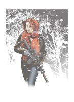 Winter Hunt-1 by rawddesign