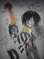 We could just have a threesome you know? by HellishGayliath