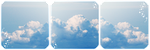 Clouds Divider and Base by LaraLeeL