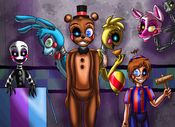 New and Shiny (Five Nights at Freddy's 2) by ArtyJoyful